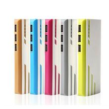 3-USB 30000mAh Power Bank Fast Charging Portable Color Strip Mobile Charger Phone External Battery For Xiaomi iPhone Samsung