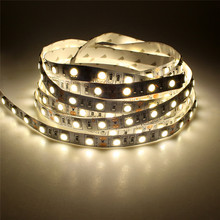 LED Strip 5M 600Leds DC12V 4000K Nature White SMD5050  LED tape flexible indoor holiday decoration lighting fairy lamp