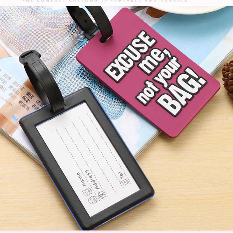 e55127685594 Suitcase travel tags