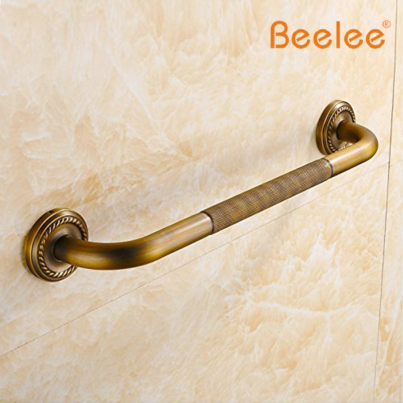 BA6188A Home Care 20 inch Grab Bar Wall Mount Antique Brass Material Grab  Bar Bathroom. Compare Prices on Bathroom Grab Bar  Online Shopping Buy Low Price