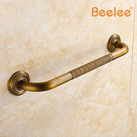 BA6188A Home Care 20-inch Grab Bar Wall Mount Antique Brass Material Grab Bar Bathroom Accessories, Antique Brass