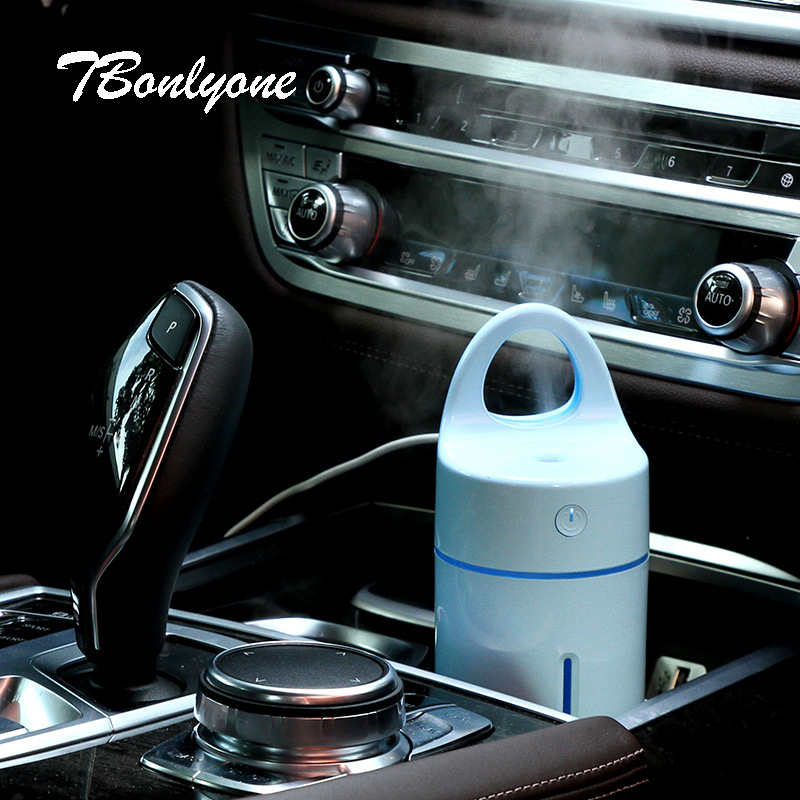 Tbonlyone 175Ml Magic Cup Colorful Table Car For Room Ultrasonic Air Humidifier Aromatherapy Aroma Essential Oil Diffuser