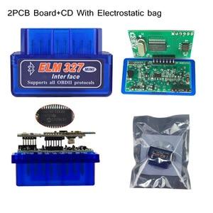 Image 2 - 최고의 품질 하드웨어 v1.5 pic18f25k80 칩 elm327 블루투스 1.5 작동 안드로이드 윈도우 진단 스캔 도구 elm 327 무료 배송