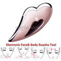 Portable Electronic Scraping Tool Chinese Guasha Facial Plate Body Massager Face Gua Sha Massage Spa Beauty Equipment Face Lift