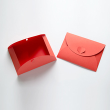 Creative Western Love Letter Recruitment Red Envelope Invitation Card Bag Wedding