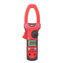 UNI-T UT207A Digital Clamp Meter True-RMS Auto Range Clamp Meter 1000A Voltage AC DC Current Clamp Meter Multimeter Clamp Meter bm803a bm803 digital ac dc 1000a clamp meter digital multimeter 1000v temperature 1000