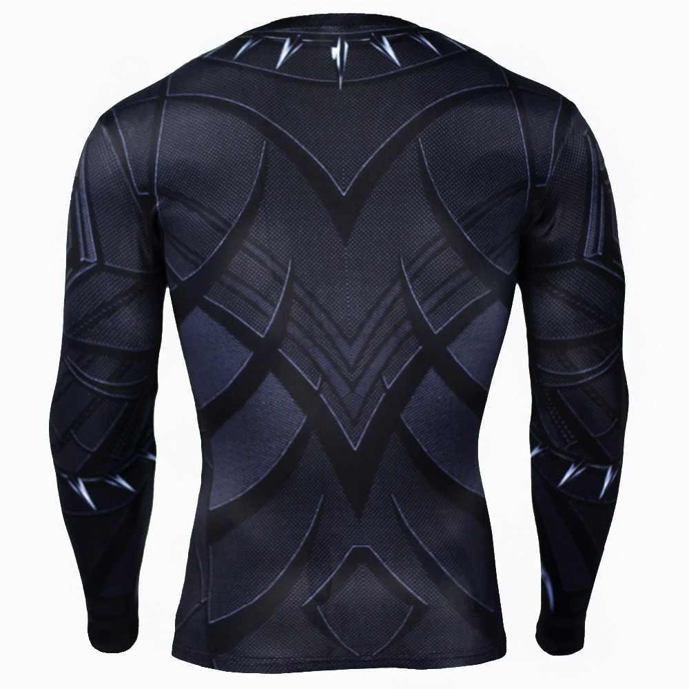 Мужская компрессионная футболка MMA для бодибилдинга с длинным рукавом для тренировок с 3D принтом, футболка с длинным рукавом для занятий спортом, футболка для фитнеса, топы, футболки