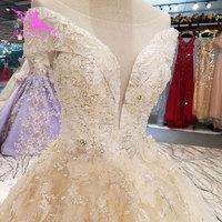 AIJINGYU Wedding Dress Coat Rhinestone Gown Whites Buy Wholesale Plus Size Gowns 2018 Bridal Dresses Online Shopping