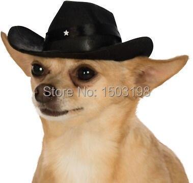 ed46c50b24da6 Vaquero sombreros perros enfriar mascota gatos del casquillo del partido  cosplay traje de leopardo cebra estilos