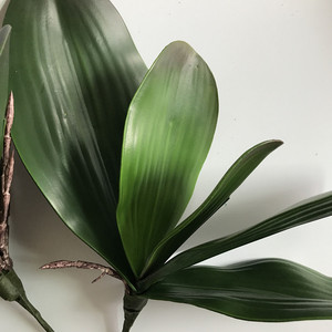 Image 4 - Flor artificial orquídea, arranjos de flores em vaso de alta qualidade pu com cola