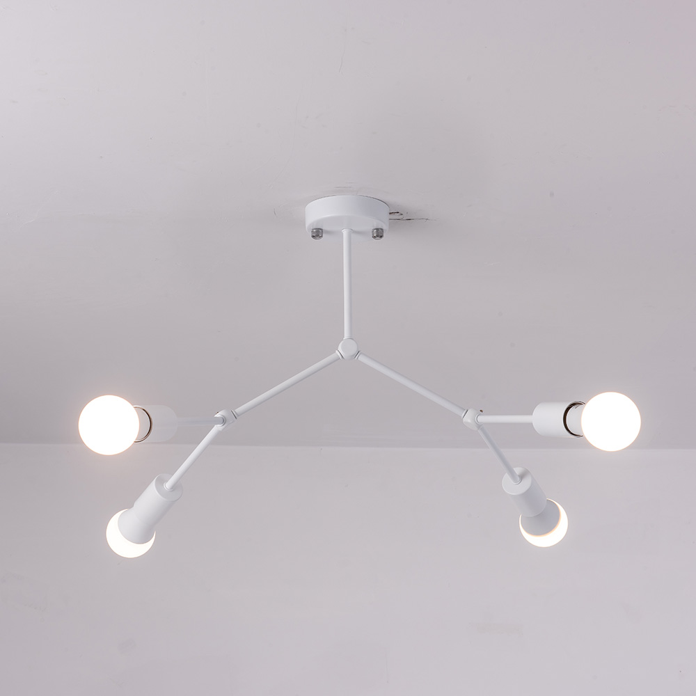 AC90 260V Multiple heads ceiling light 12W Super Bright LED Ceiling Lamp Surface Mounted Led living AC90-260V Multiple heads ceiling light 12W Super Bright  LED  Ceiling Lamp Surface Mounted Led living room lights