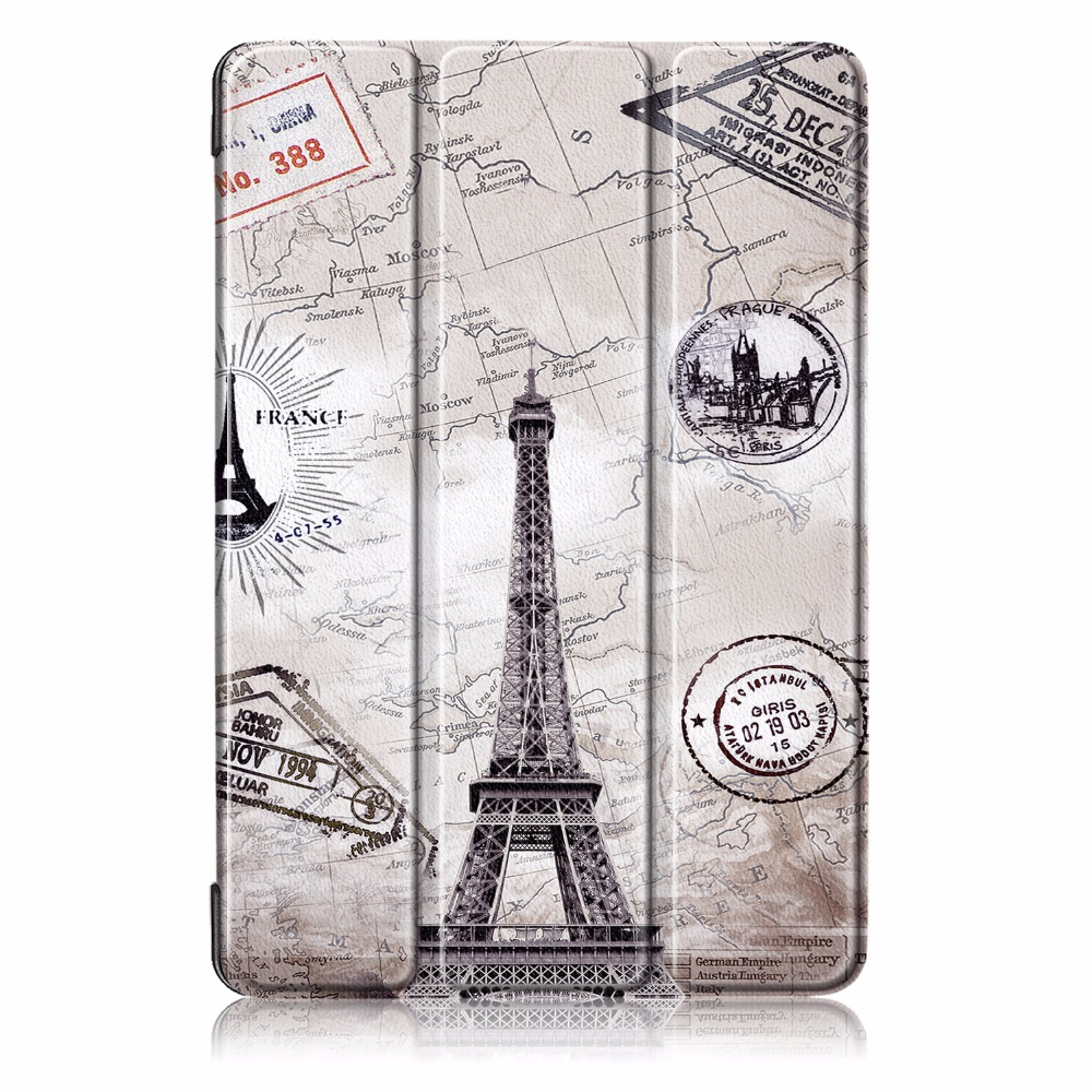 Premium Painted /Solid Leather Magneti Cover For Huawei Mediapad T5 10 10.1