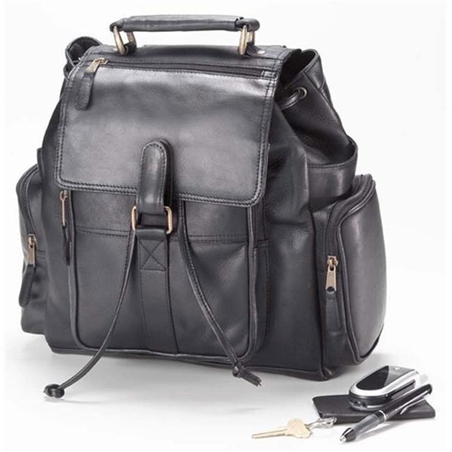 Clava 3230 Urban Survival Backpack - Vachetta Black clava 709 hip to be square backpack vachetta cafe