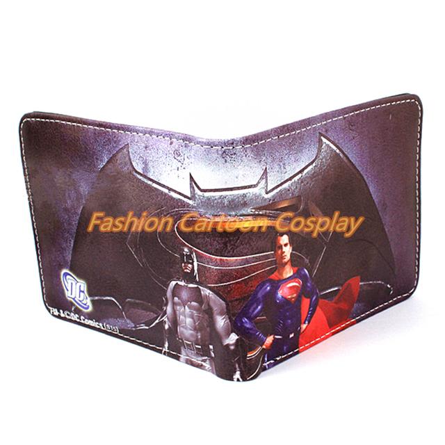 Batman vs Superman Harry Potter Wallets Coin Pocket Men Purse