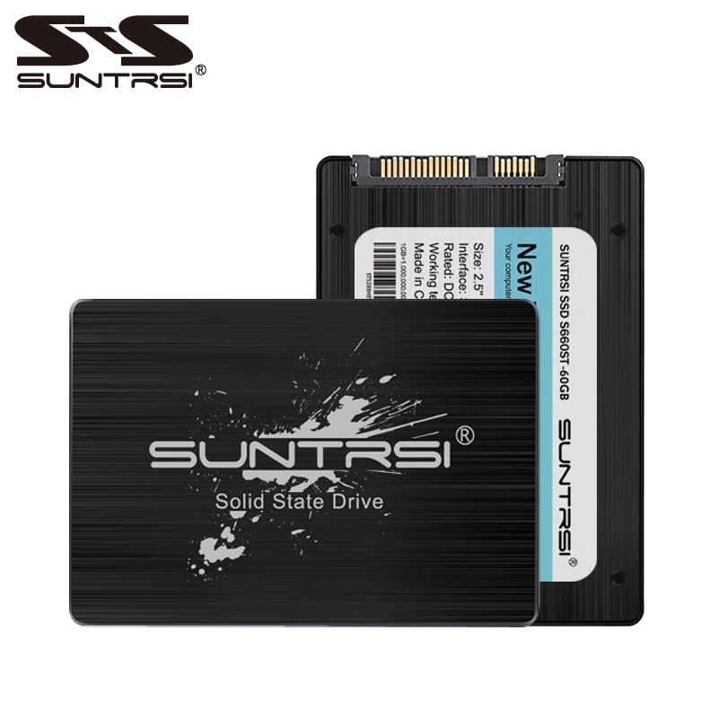 Suntrsi SATA3 SSD 240g Solid State Disk 120g High Speed 60 gb 2,5 zoll Interne schwarz SSD für computer freies verschiffen