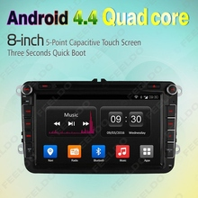 8″ Android 4.4.4 Quad Core Car DVD GPS Radio For VW Golf 5 6/Polo/Passat/Jetta/Tiguan/Touran #FD-4560