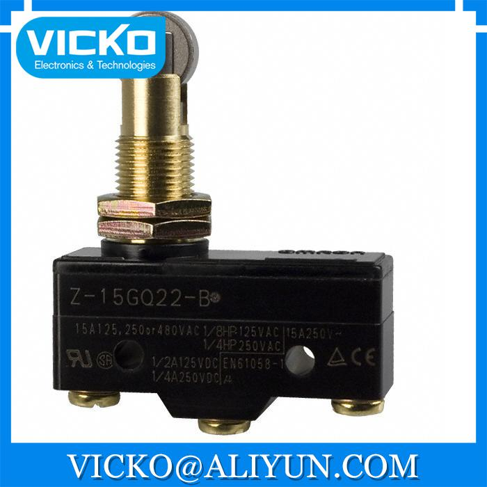 [VK] Z-15GQ22A55-B5V SWITCH SNAP ACTION SPDT 15A 125V SWITCH 5pcs lot high quality 2 pin snap in on off position snap boat button switch 12v 110v 250v t1405 p0 5