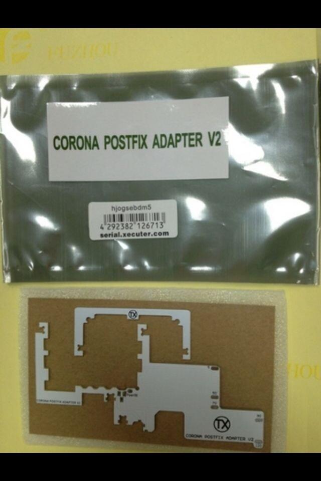50pcs lot CPU POSTFIX CORONA ADAPTOR 2 V2 for xbox360 slim
