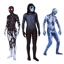купить Deluxe Skeleton Skull Costume Cosplay For Adult Men Women Halloween Costume For Adult Men Women Suit Carnival Party Clothing по цене 2082.9 рублей