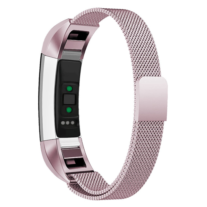 High Quality Milanese Magnetic Loop Stainless Steel Wristband Bracelet for Fitbit Alta HR Watch Band