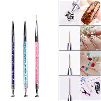 3PCS Nail Art Line Flower Cat Eye Magnet Pen Strip Magical Stick DIY Magic 3D Magnetic Polish UV Gel Polish Cat Eyes R0300