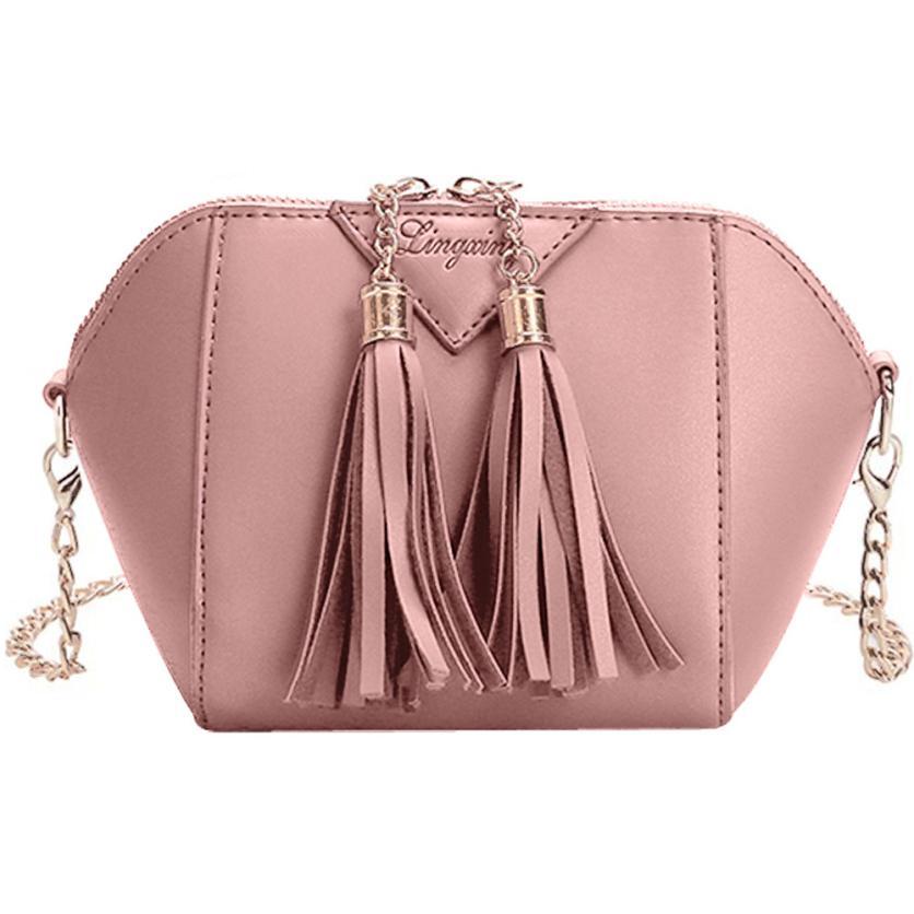 Shoulder Bag Women Tassel Small Fashion  Crossbody Bags For Women Bag Women  Beautiful Handbag Leather 43bae791011d7