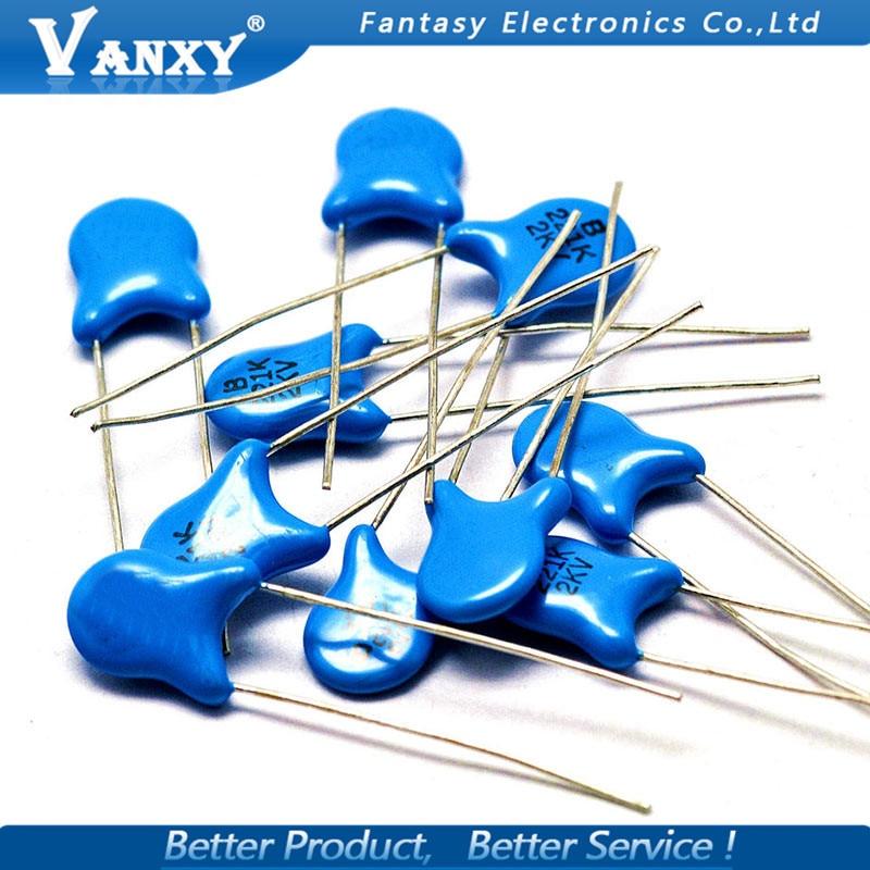 100pcs 103PF 10NF Ceramic Disc Capacitors 50V 85℃ Good quality 10℃ to