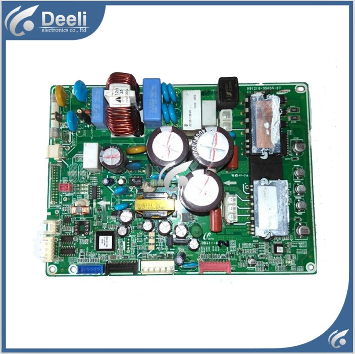 95% new used Original for air conditioning control board DB41-01010A 091218-35655-07 motherboard 95% new used original for air conditioning control board 2p087379 1 2 3 rx35lv1c computer board motherboard