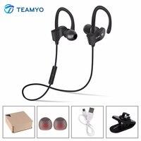 Teamyo S4 Comfortable Headset Wireless Earphone Bluetooth Neckband Ecouteur Earpiece Sport Running Headphone With Microphone