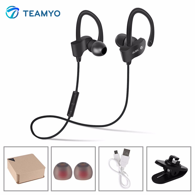 Teamyo Earpiece Sport Running Headphone with Microphone