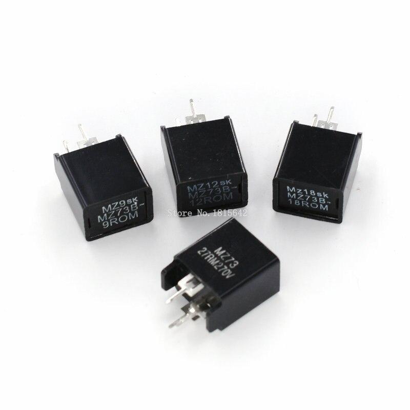 5PCS Degaussing Resistor MZ73B-9ROM 12ROM 18ROM 27ROM MZ73 9RM 12RM 18RM 27RM 270V 3Pins Demagnetizing Resistors Resistance