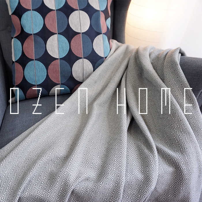 Manta de tela escocesa súper suave con borlas tejidas con flecos teñidas manta de cama mantas cómodas ligeras elegantes 130*220cm