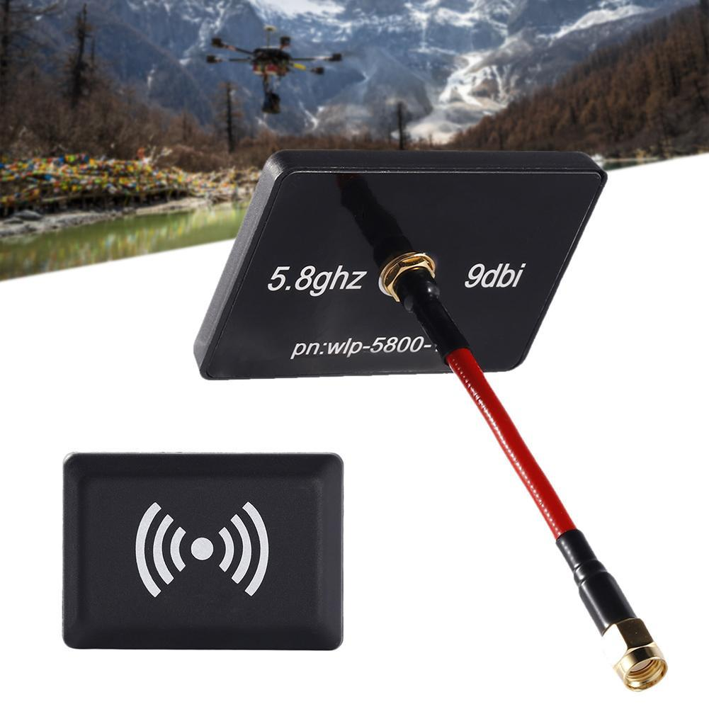 Coolfly 5.8GHz 9DBI High Gain Wireless Panel Antenna AV Transmitter for FPV SMA RP-SMA RC FPV mini size low SWR Helicopter fpv tx52w 5 8ghz 2000mw 8 channels high power wireless a v transmitter sma plug jack