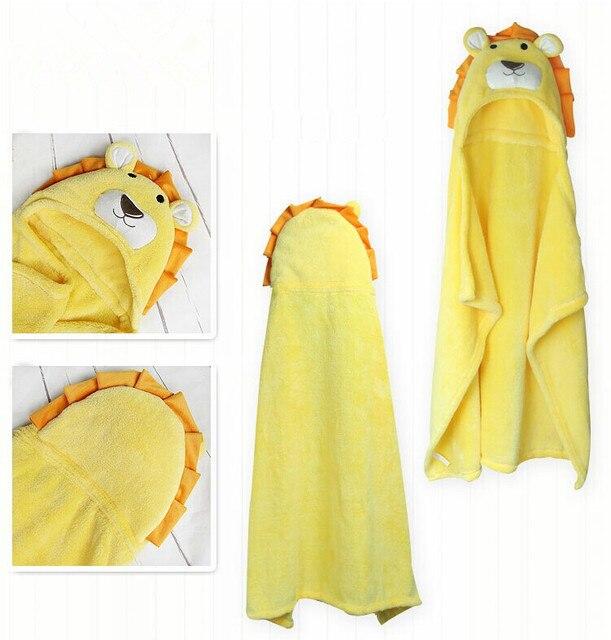 Детское одеяло руно одеяло новорожденного одеяло детское полотенце животных формы бесплатная доставка 100 см х 100 см лев