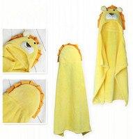 Bebek battaniye polar battaniye yenidoğan battaniye bebek banyo havlusu hayvan şekilleri ücretsiz kargo 100 cm x 100 cm aslan