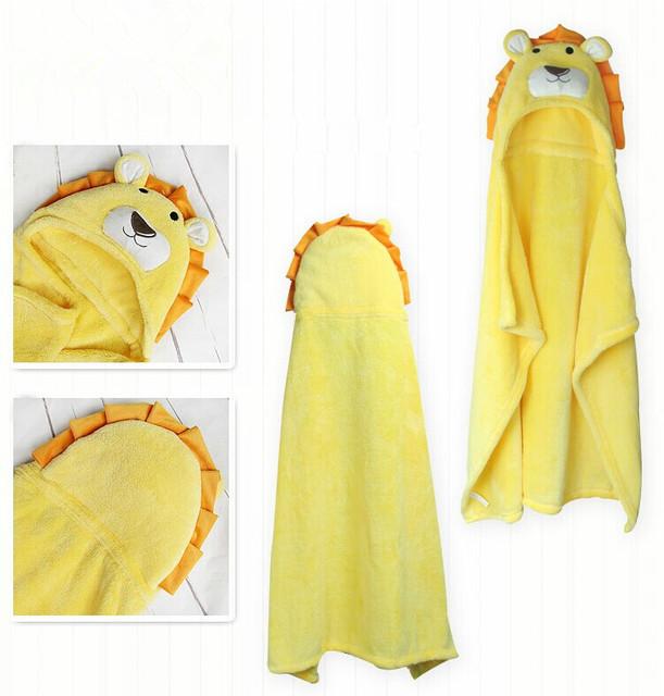 Manta de bebé manta de lana manta de bebé recién nacido toalla de baño animal forma envío gratis 100 cm x 100 cm león