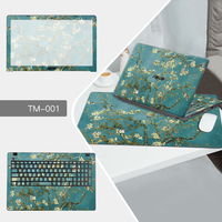 Laptop Sticker Mouse Pad Sets Skin For Dell XPS 13 9350 12 9250 13 9360 15