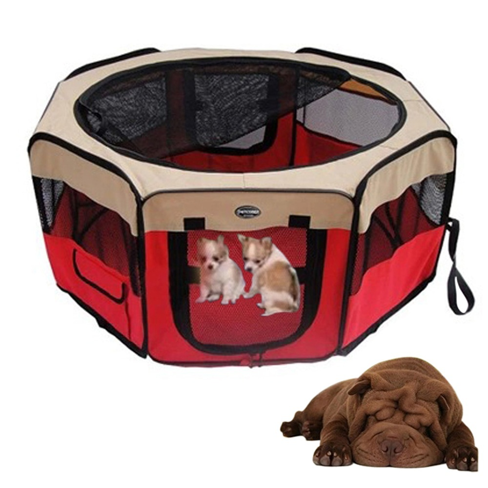 Foldable Pet House Tent Extra large Space Waterproof Exercise House Kennel Tent Bed for Pet Puppy