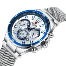 цена REWARD 2019 Hot Brand Luxury True Three-eye Timing Sports Multi-function Calendar Waterproof Men Watch Relogio Masculino montre онлайн в 2017 году