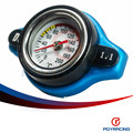 PQY STORE-D1 Термостатический Spec ГОНКИ Крышка, Радиатор КРЫШКА + Температура Воды манометр 1.1BAR Крышка Для Honda. SUZUKI PQY-DRC11