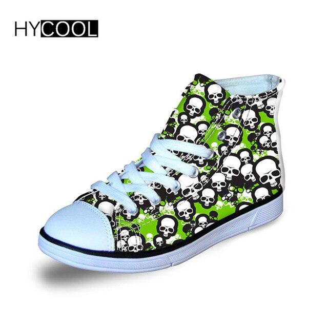 HYCOOL cráneo impreso niños zapatos deportivos niños zapatillas de Running  al aire libre para caminar diario 79a12a2bc3f82