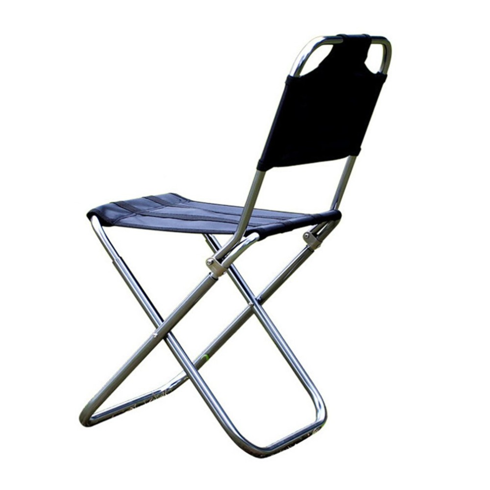 Outdoor Folding Chair Aluminum Alloy Fishing Traveling Camping Chair Bbq Stool