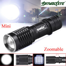 Cycling Bike Head Front Light Bicycle Light Bright Super Bright 4500LM Q5 AA 14500 Zoomable font