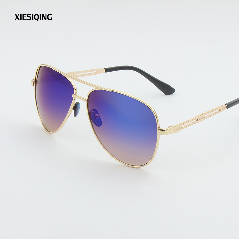 2017 New retro round sunglasses women brand designer sun glasses for women Alloy mirror sunglasses female Goggles