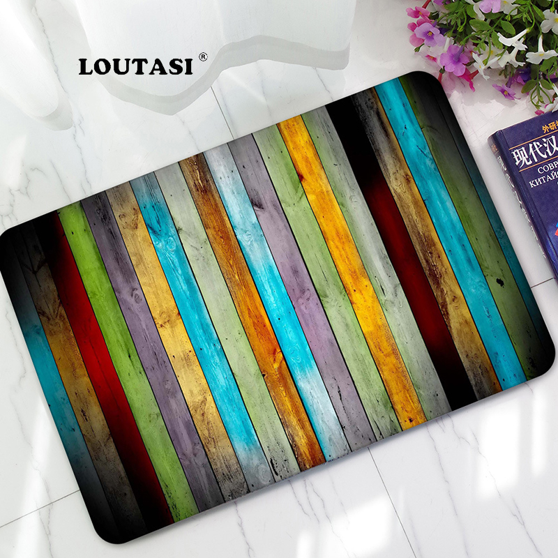 LOUTASI Modern Rubber Floor Home Front Door Entry Welcome Mat Carpet Funny Doormat For Entrance Door Anti Slip Bedroom Area Rugs