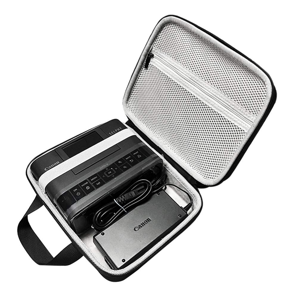 New Top Hard Travelling Case Storage Case Protective Pouch Bag Carrying Case for Canon SELPHY CP1200 / CP1300 Photo PrinterNew Top Hard Travelling Case Storage Case Protective Pouch Bag Carrying Case for Canon SELPHY CP1200 / CP1300 Photo Printer