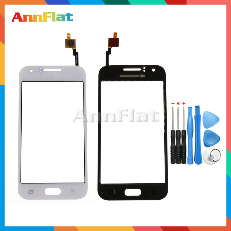 Digitizer Touch-Screen Samsung Galaxy Tool Lens-Sensor Panel Front-Glass for DUOS J1
