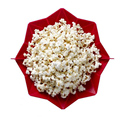 1 Pcs Red Microwave Oven Popcorn Food-gread Silicone Bowl Foldable Home Kitchen Corn Maker Heating Baking Tools Accessories DIY