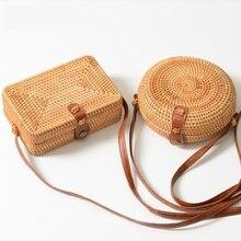 Summer Round Straw Bags Small Women Rattan Bag