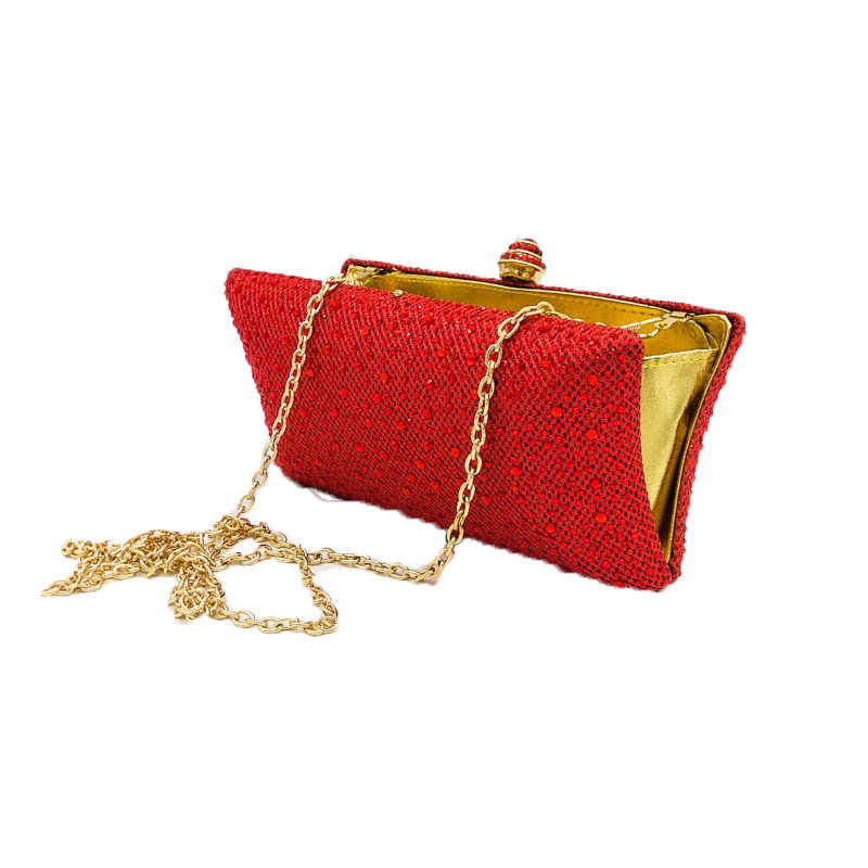 Fgg Diamante Y Cristal Mujeres Monederos Damas Bolsa Rojo Brillantes Noche Bolsos Boda De Fiesta Rubí Embrague Bolsas Boutique nwOXP8k0